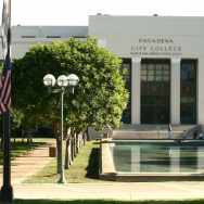 A view of the Pasadena City College campus.