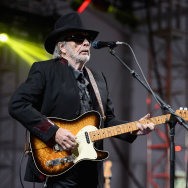 Musician/songwriter Merle Haggard performs onstage during day 3 of the Big Barrel Country Music Festival on June 28, 2015 in Dover, Delaware.  (Photo by Stephen Lovekin/Getty Images for Big Barrel)