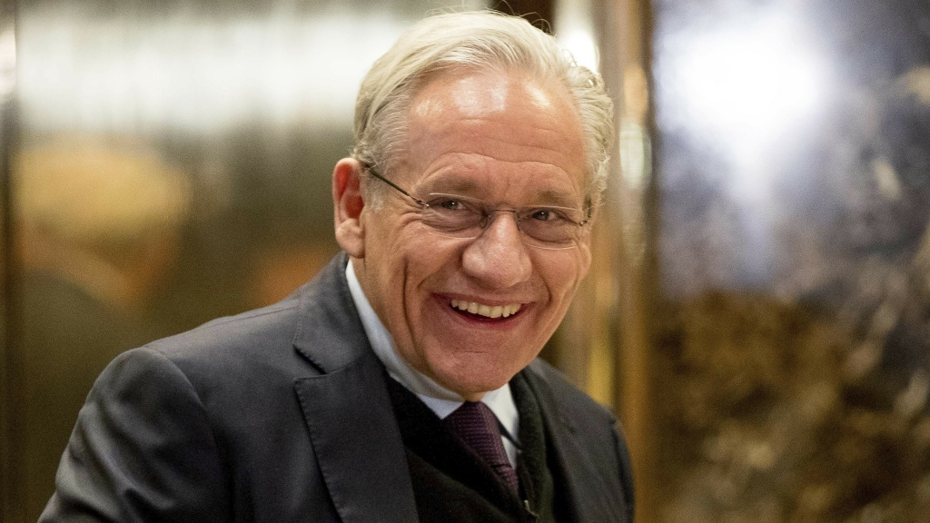 Author Bob Woodward says of his sources,