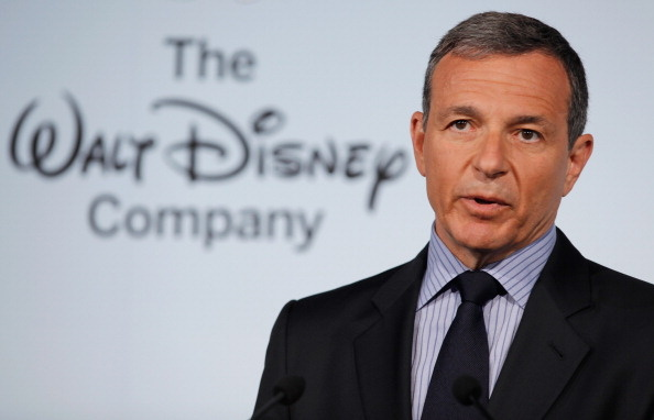 The Walt Disney Company Chairman and CEO Robert Iger delivers remarks during an event introducing Disney's new 'Magic of Healthy Living' program at the Newseum June 5, 2012 in Washington, DC.