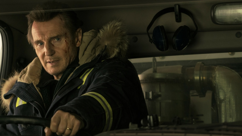 Liam Neeson stars as 'Nels Coxman' in Lionsgate's COLD PURSUIT.
