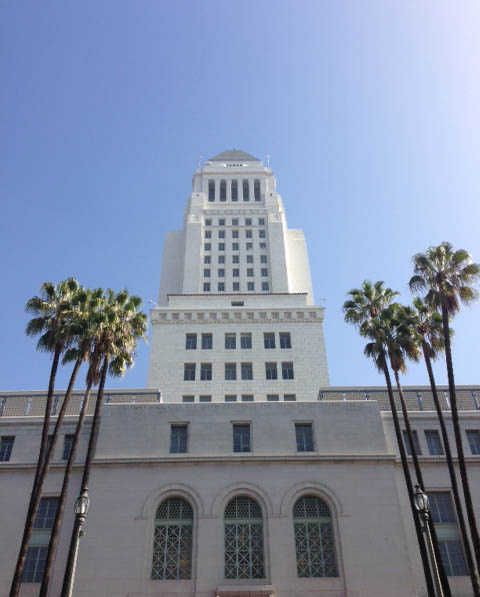 The Budget and Finance Committee approved a fiscal report Monday that paints a rosier picture for the City of LA.