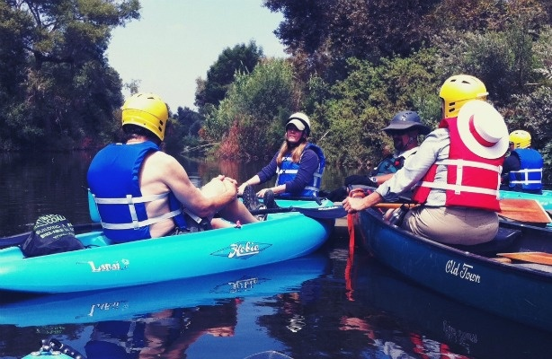 Last summer, the city of LA's Carol Armstrong offered Los Angeles River history during kayak tours. If a new proposal is approved, by this summer people could paddle, bike, or fish a little farther south, in the Glendale Narrows stretch of the river.
