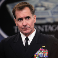 Pentagon Press Secretary Rear Admiral John Kirby Holds Press Briefing