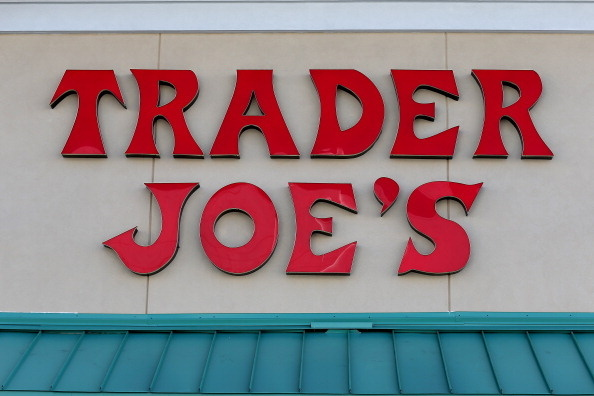 File: The Trader Joe's sign is seen during the grand opening of a Trader Joe's on Oct. 18, 2013 in Pinecrest, Florida.