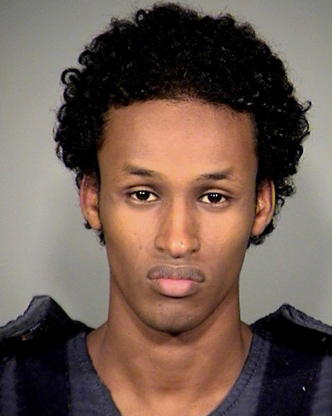 In this Nov. 27, 2010 file photo provided by the Multnomah County Sheriff's Office is Mohamed Mohamud. For more than two years, the only image the public has had of the man accused of plotting to detonate an 1,800-pound bomb at a Portland Christmas tree-lighting ceremony is this: A sullen-faced, sunken-eyed terrorism suspect in a mug shot taken just hours after his arrest. At the trial that begins Thursday, Jan. 10, 2013, Mohamud's attorneys will attempt to present a different image, one of an impressionable teenager lured by undercover agents with the FBI, which snared one of its youngest terrorism suspects with his arrest in November 2010.