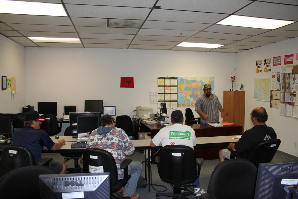 Veterans enrolled in a North Bay Veteran Resource Center program.