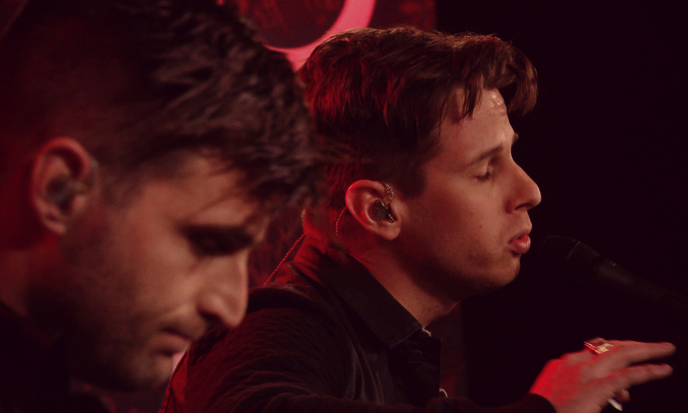 Foster the People perform live at Q Radio with Jian Ghomeshi.