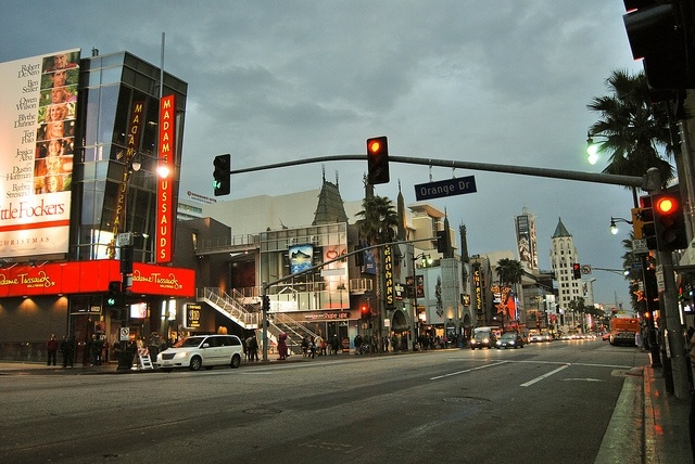 Only a few days after a fatal stabbing near Hollywood Boulevard and Highland Avenue, tourists are still flocking to the popular tourist area.