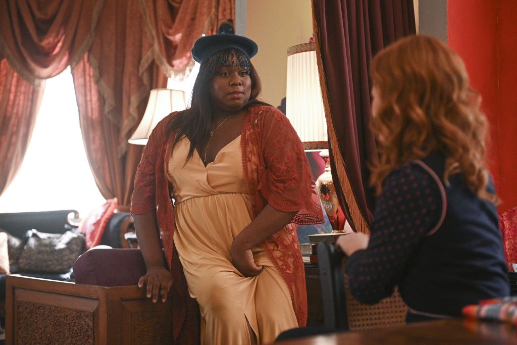 Alex Newell as Mo in the NBC show,