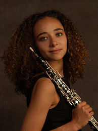 Ariana Ghez, the LA Philharmonic's principle oboeist at 26 (in 2006).