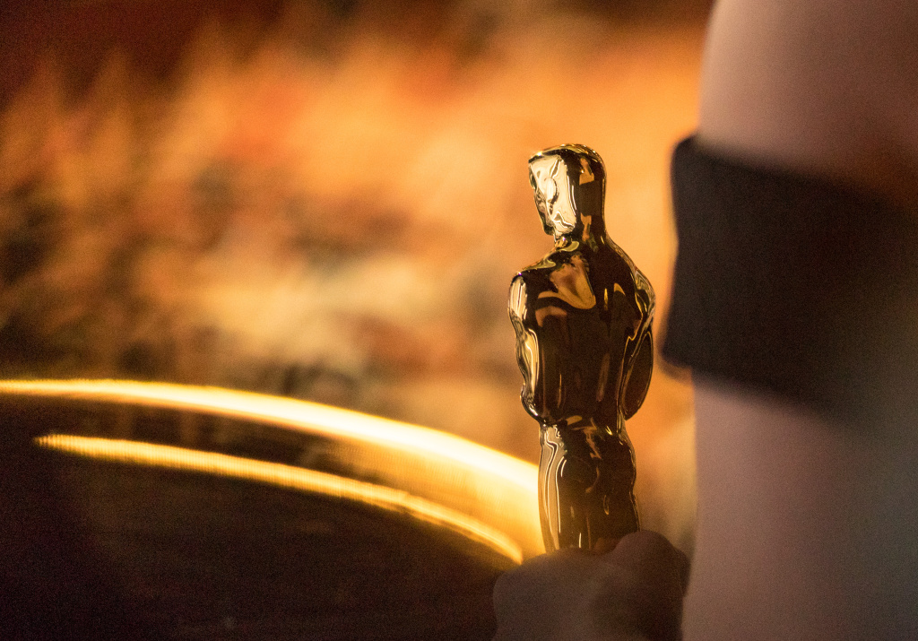 The Oscar statuette is seen backstage during the 89th Annual Academy Awards at Hollywood & Highland Center on February 26, 2017 in Hollywood, California.