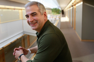 FILE - In this April 12, 2010 file photo, Anthony Shadid winner of the 2010 Pulitzer Prize for International Reporting with The Washington Post, poses for a portrait at the Watson Institute for International Studies on the campus of Brown University, in Providence, R.I