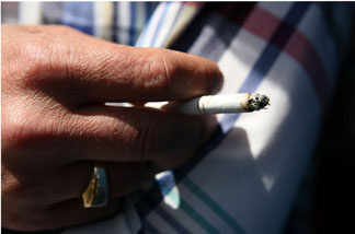 A new ad campaign from the Centers for Disease Control and Prevention notes that smokers are more than twice as likely to quit when they've talked to a health provider about it.