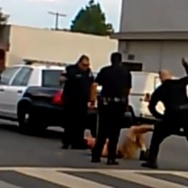 Long Beach Police Beating