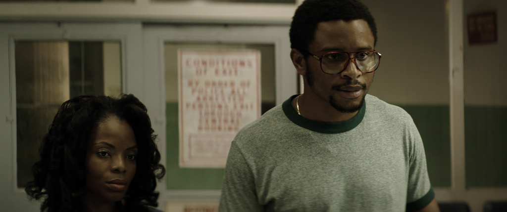 Marsha Stephanie Blake and Nnamdi Asomugha in