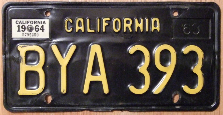 California's legacy license plate program would allow motorists to order plates from the 1950s, '60s and '70s if there are enough preorders by Jan. 1, 2015. The classic black-and-yellow plate from the '60s has reached the threshold of 7,500 preorders. Now the department is gearing up to process orders and begin manufacturing.