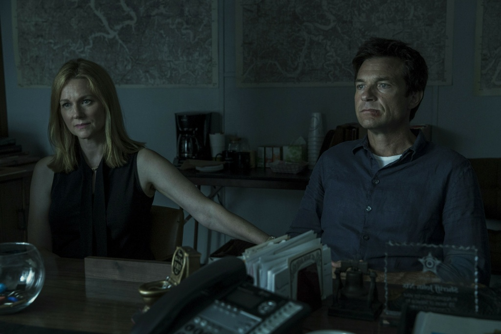 Netflix show, Ozark starring Laura Linney and Jason Bateman