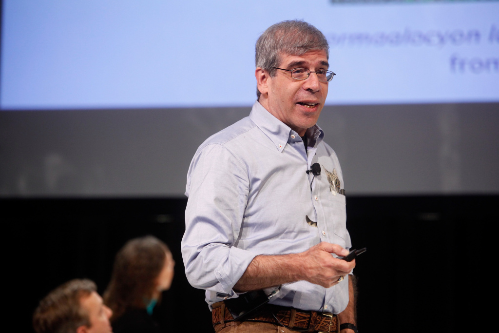 Biology professor Jerry Coyne participates in a panel discussion during the New Yorker Festival on October 11, 2014 in New York City.