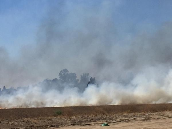Corona fire prompted evacuations and road closures Wednesday afternoon.