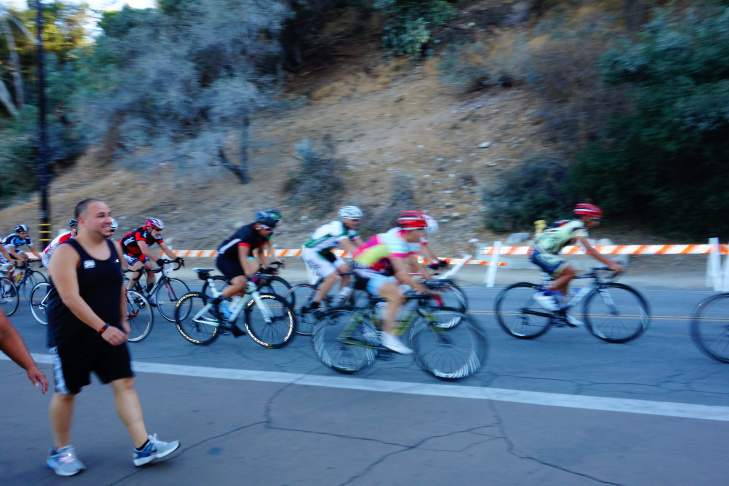 Runners, walkers and cyclists don't have access to the Rose Bowl perimeter road during concerts and other big events