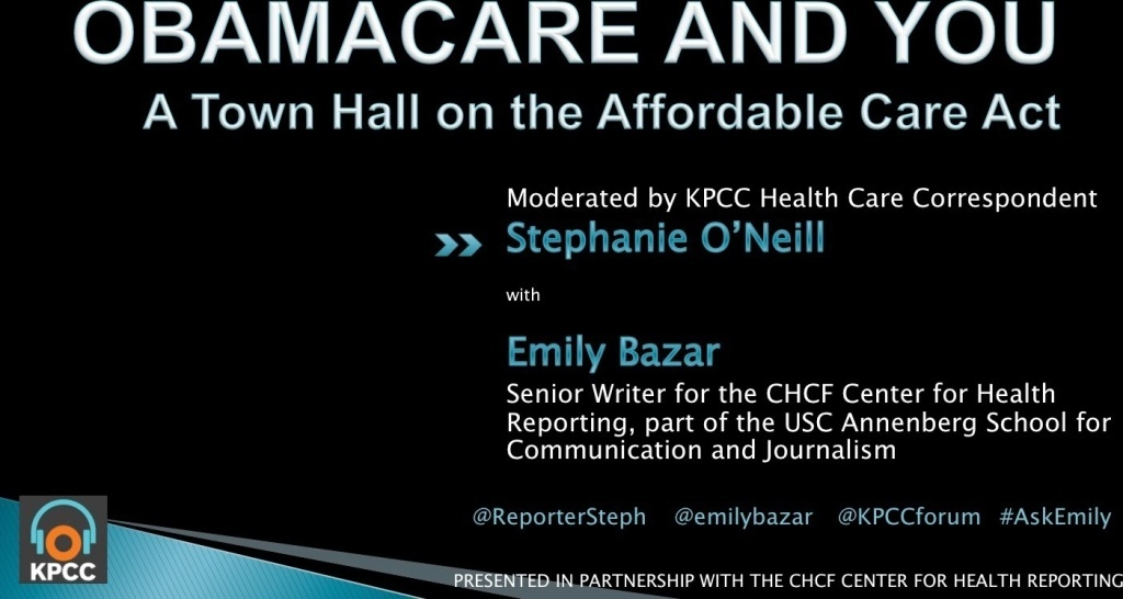 Obamacare and You: A Town Hall on the Affordable Care Act
