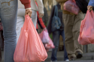 California legislators are discussing a mandatory charge for plastic bags