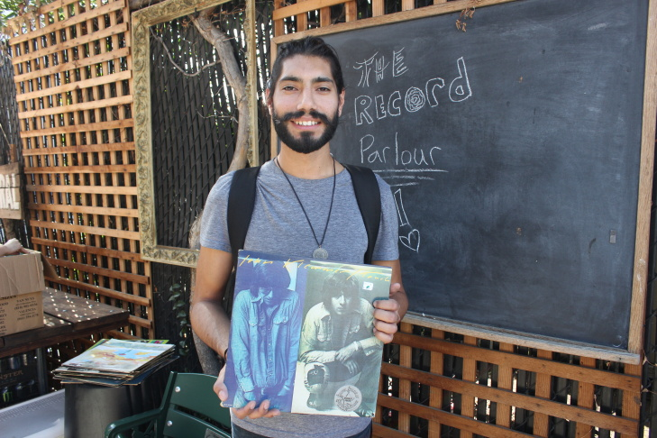 The Record Parlour owners Chris Honetschlaeger, left, and Chadwick B. Hemus.