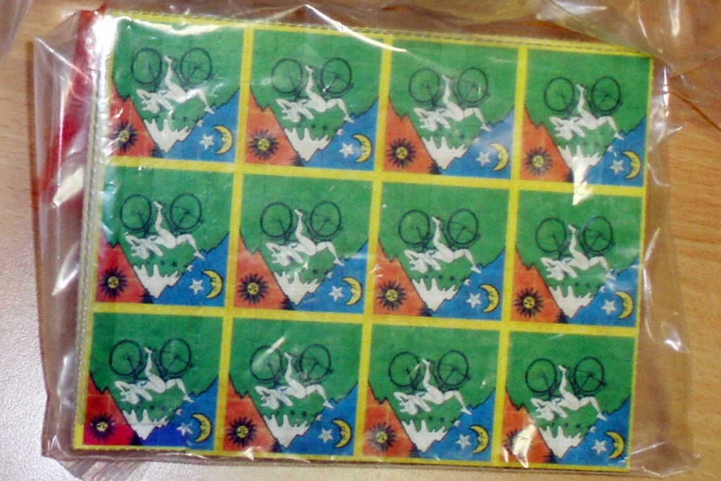 File: Photo distributed by French Customs authorities shows doses of LSD, in the form of sheets of stamps, seized on Aug. 15, 2008 from a Brazilian whose suitcase contained 40,000 doses.