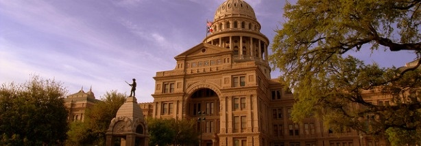 The Texas State Capitol, Austin TX.
