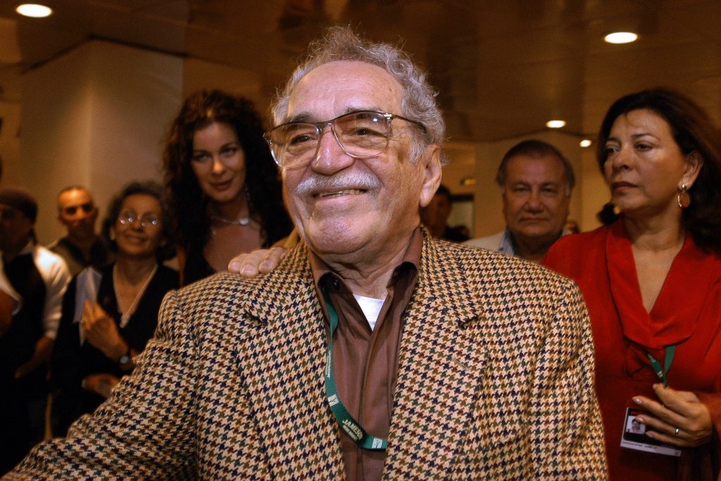 HAVANA, CUBA: (FILES) Colombian writer and Nobel Prize for Literature 1982 Gabriel Garcia Marquez attends 05 December, 2006 in Havana the inauguration of the XXVIII New Latin American Cinema festival. Marquez, nicknamed