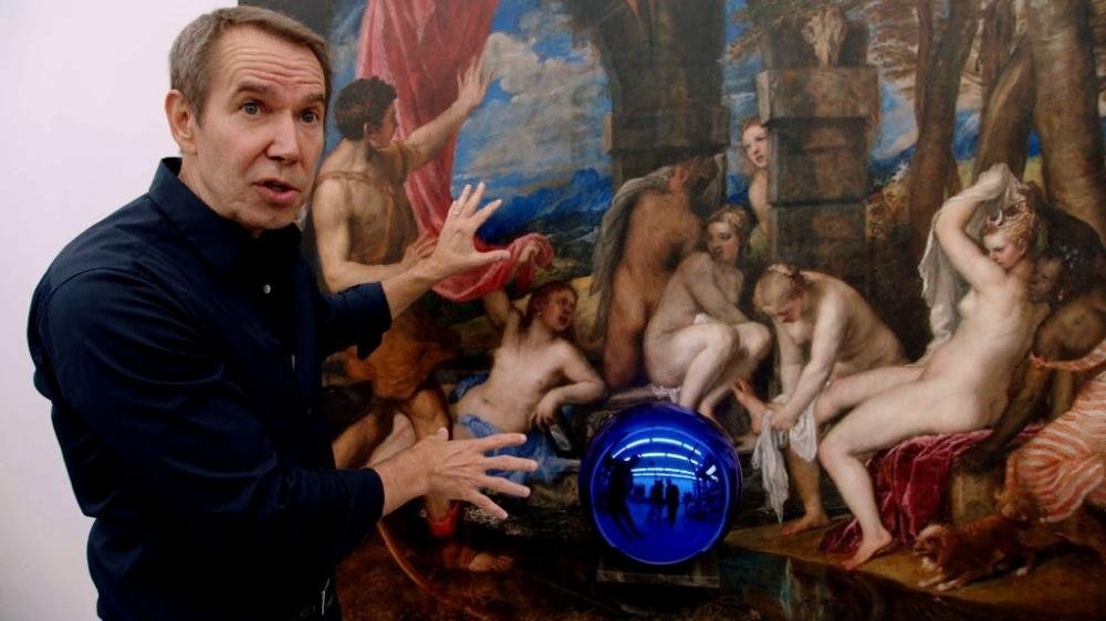 Artist Jeff Koons is featured in the art world documentary,