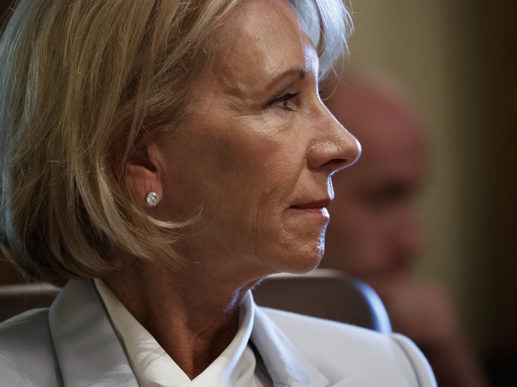 Secretary of Education Betsy DeVos has taken several actions to delay the Obama-era student borrower protection rule.