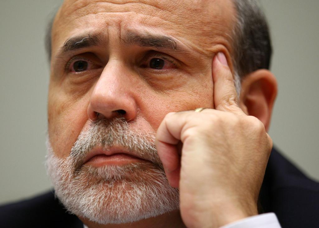 Federal Reserve Board Chairman Ben Bernanke