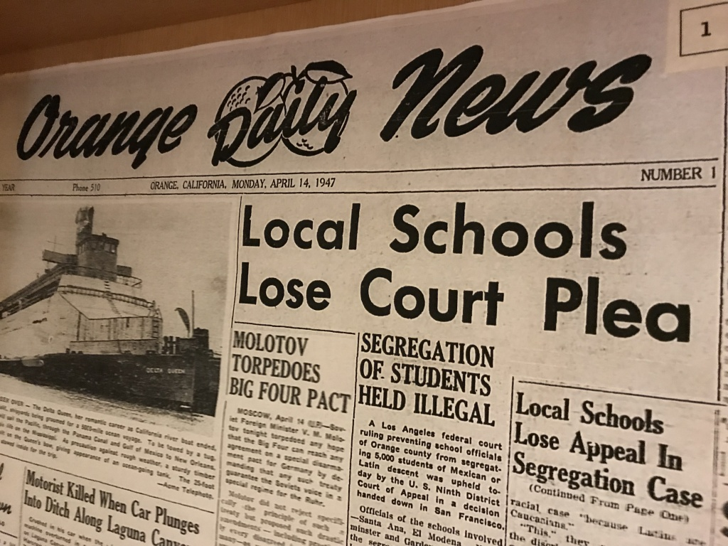 In 1947, a group of parents won a federal court case that forced school districts in Orange County to stop segregating Latino students. Seventy years later, schools are again deeply segregated.