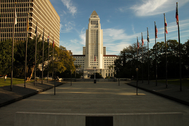 The Los Angeles Times considers the best way to influence City Hall.