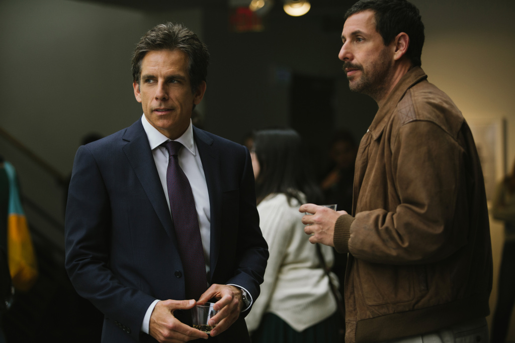 Ben Stiller, left, and Adam Sandler in