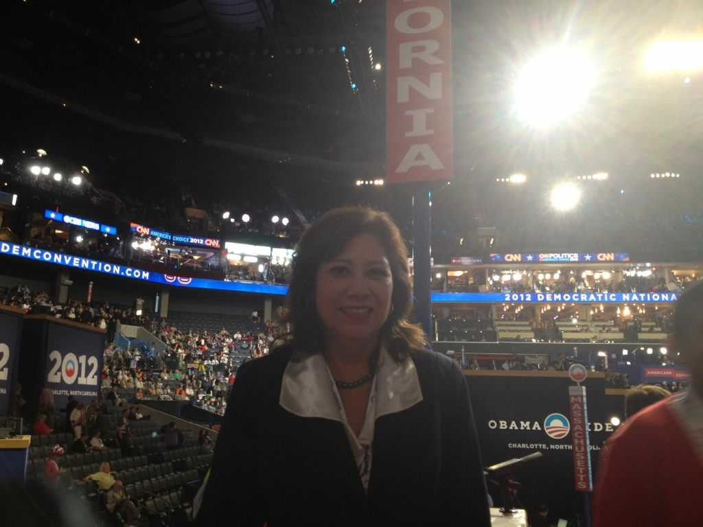 U.S, Labor Secretary and LA native Hilda Solis is attending the Democratic National Convention as a delegate