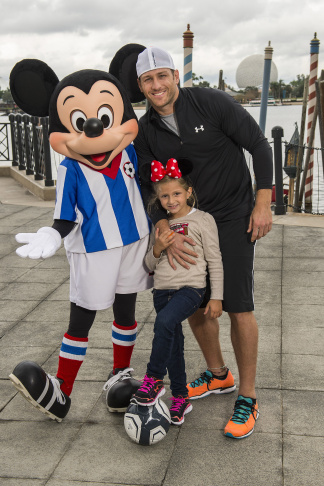 """The Bachelor"" Juan Pablo Galavis Visits Walt Disney World"
