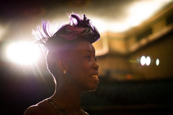 Queen of Krump Miss Prissy, born Marquisa Gardner, co-founded krump dancing in 2001.