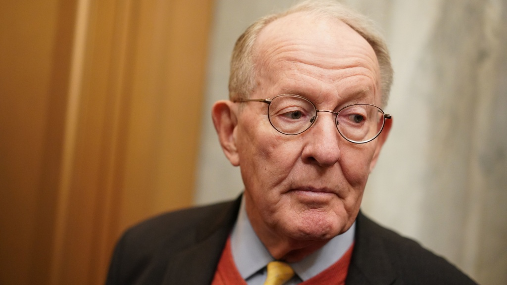Sen. Lamar Alexander, R-Tenn., arrives for the impeachment trial of President Trump at the Capitol on Friday. Alexander, a key vote in the trial, says he plans to vote no on hearing witnesses.