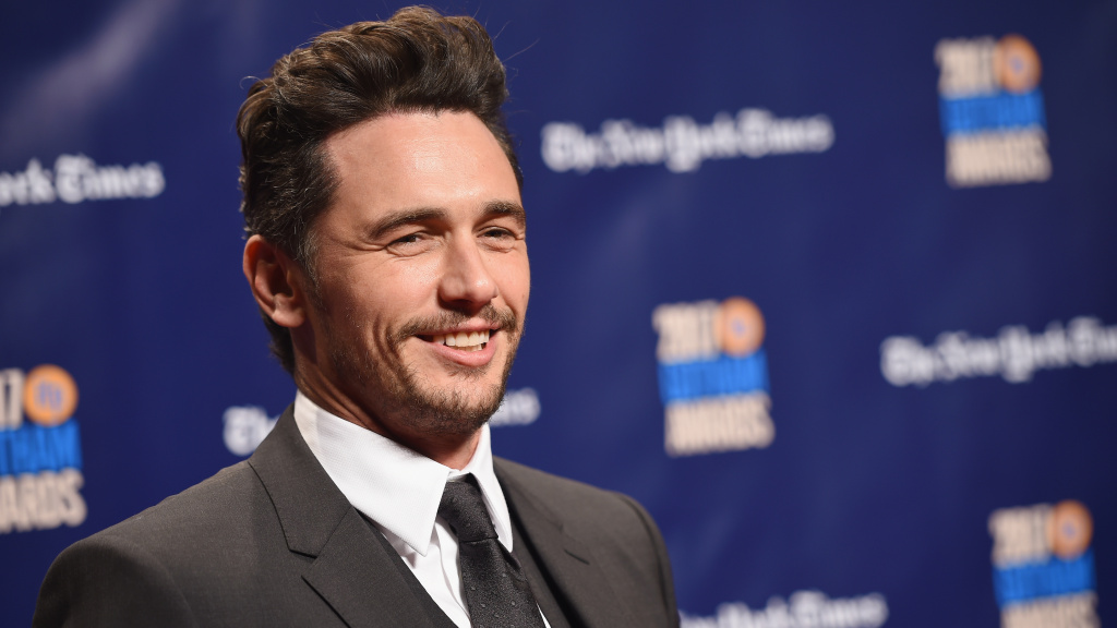 James Franco, seen at a film awards ceremony in November 2017.