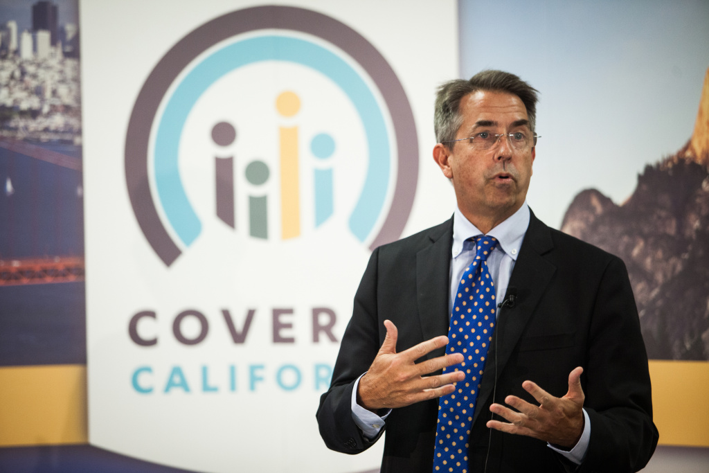 Covered California Executive Director Peter Lee speaks during a press conference regarding the number of new healthcare enrollees through CoveredCA.com, the health insurance exchange for the state of California, on November 13, 2013 in Sacramento, California. A total of 30,830 Californians enrolled through the exchange in the month of October, with a total of 59,830 people enrolled through November 12.
