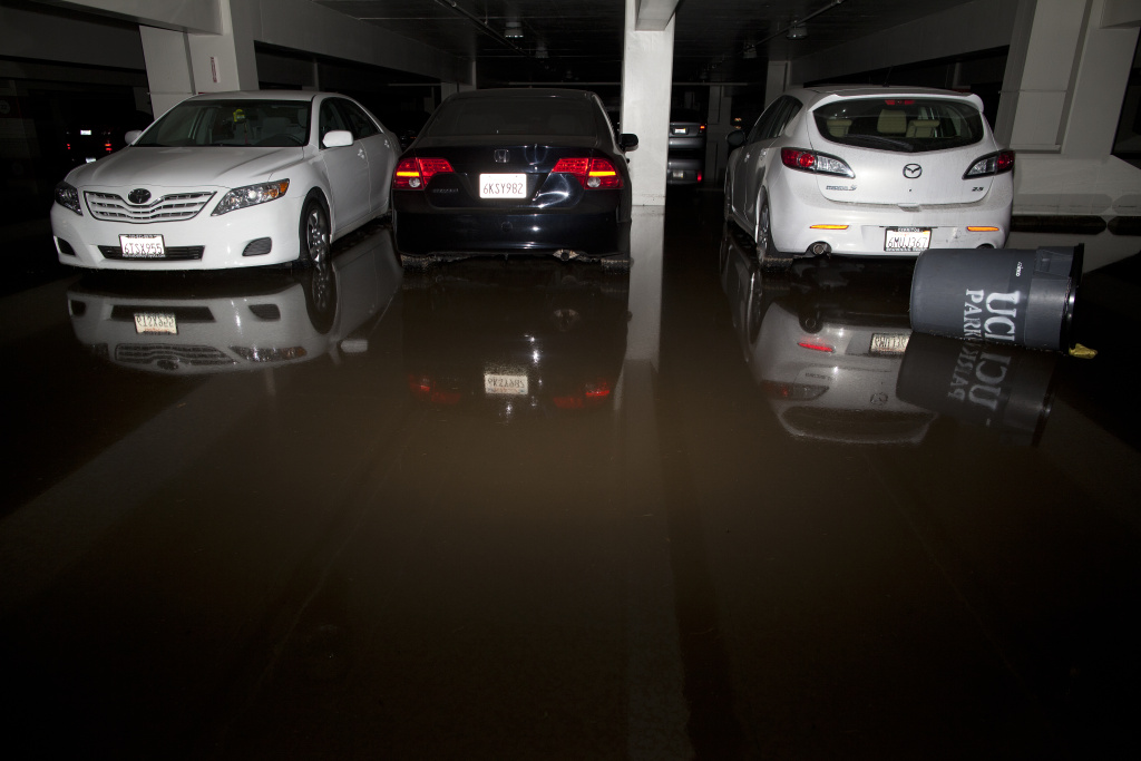 Video: UCLA flood: DWP now says 20M gallons of water lost