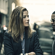 "Michelle Monaghan and Jamie Foxx in ""Sleepless."""