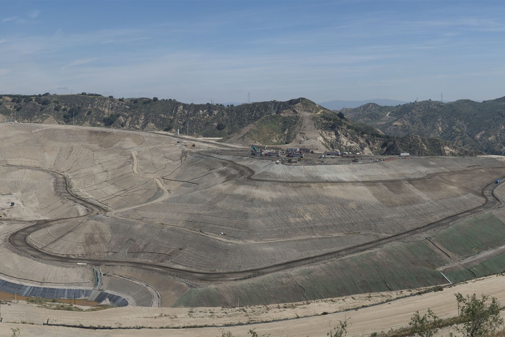 Sunshine Canyon is Los Angeles County's largest landfill.