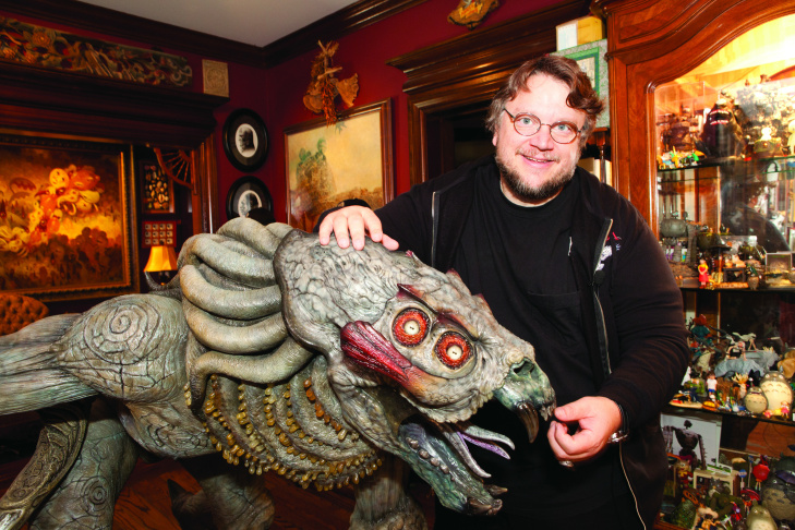 Guillermo del Toro in his