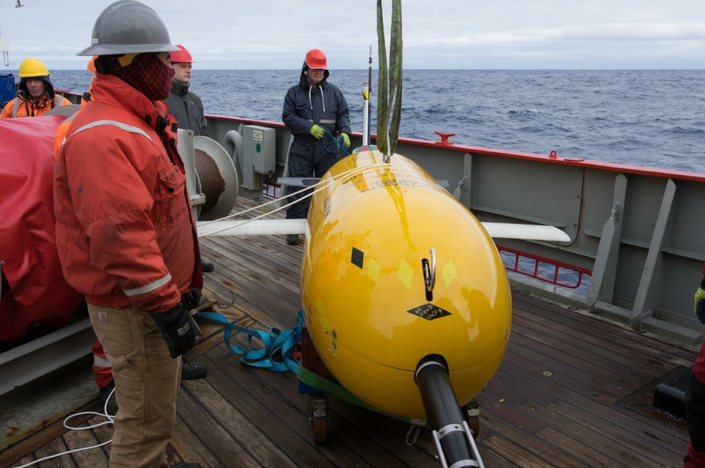 Boaty McBoatface, an autonomous submarine vehicle, had a successful first mission taking measurements deep in the Southern Ocean.