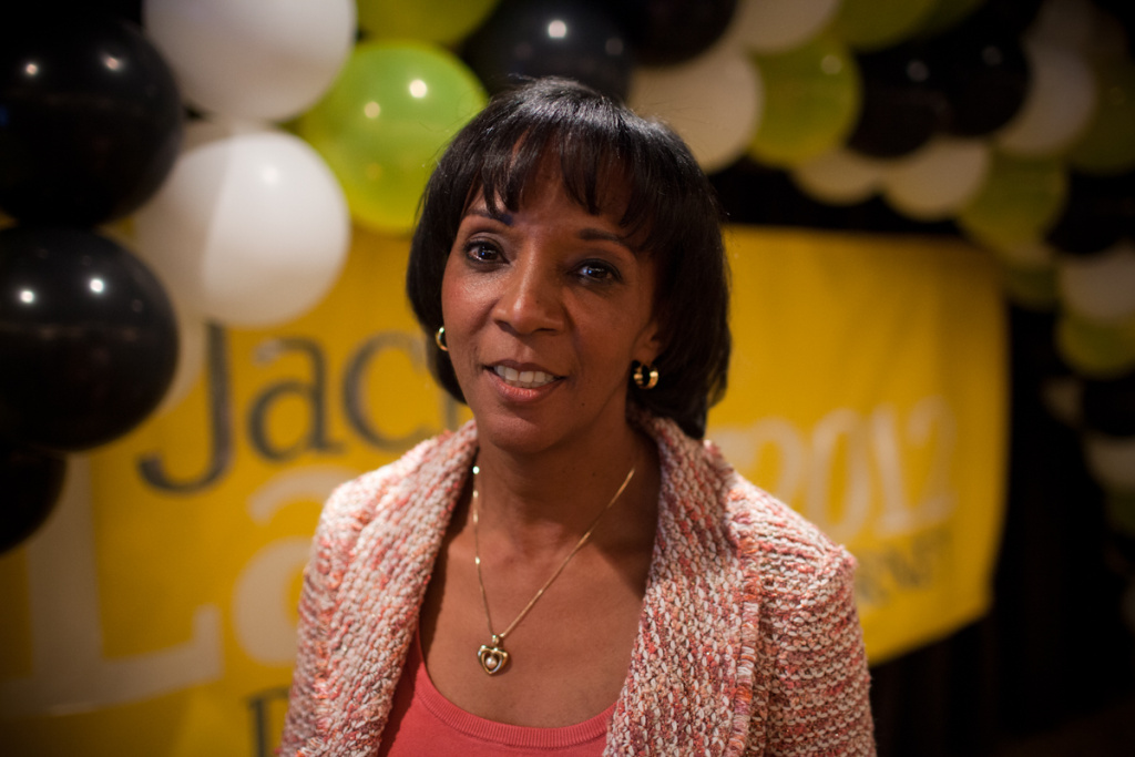 Jackie Lacey has been L.A.'s top prosecutor for the past year and a half.
