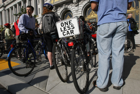 San Franciscans Alter Commute On 15th Annual Bike To Work Day
